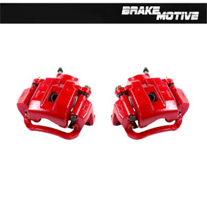 Rear Red Brake Calipers For 2007 2008 2009 2010 2011 2012 2018 Toyota Tundra