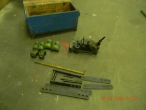 Greenlee Hydraulic Pipe Bender Model 770 Several Pieces