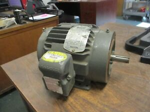 Baldor Inverter Drive Motor Idm3584t 1 5hp 1800rpm Fr 145tc 230 460v Used
