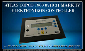 Atlas Copco 1900 0710 31 Mark Iv Programmed With Your Compressor s Settings