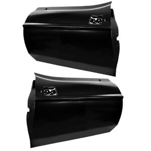 1971 72 73 Ford Mustang Door Shell Panel Assembly Pair Left Right 2 Pieces