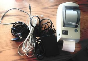 Zebra Thermal Label Printer Lp282p Works Great Used For One Roll Only Nm