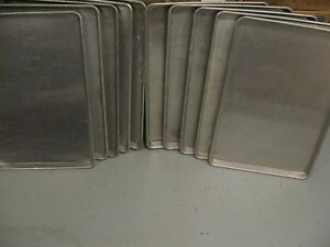 10 Qty Full Size Sheet Bakery Pan 18 X 26 Commercial Baking Pans