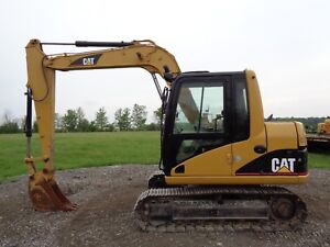 2003 Caterpillar 307c Excavator Cab heat air 12ft Max Digging Depth 4 332hrs