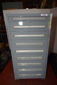 Equipto 9 Drawer Cabinet inv 38534