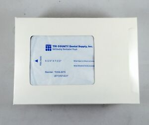 Autoclave Self Sealing Sterilization Pouch 5 25 x7 5 400 pk Dental Medical Fda