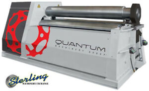 1 4 X 13 Brand New Tauring Group Double Pinch Hydraulic 4 Roll Plate Bender M