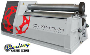 3 4 X 6 Brand New Tauring Group Double Pinch Hydraulic 4 Roll Plate Bender M20