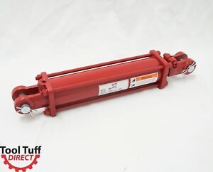 Tie Rod Cylinder Hydraulic Double Acting 3 Bore 12 Stroke 1 2 Npt 2500