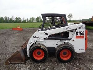 2004 Bobcat S150 Skid Steer Orops Sticks And Pedals Kubota Diesel 1 176hrs