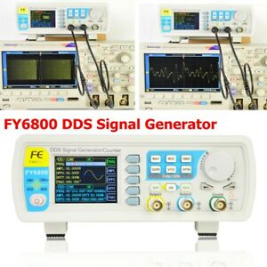 Fy6800 Dds Signal Generator 0 01 100mhz Function Arbitrary Waveform Pulse