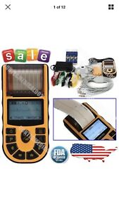 Contec Ecg80a Portable Hand held Single Channel Ecg Ekg Machine W software usa