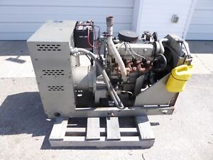 Winco 20kw Natural Gas Standby Generator Ford 4cyl Engine 700 Hours Good Cond