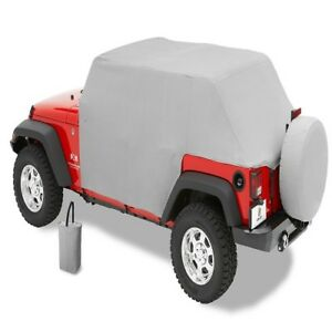 Bestop Charcoal All Weather Trail Cover For 2004 2006 Jeep Wrangler Unlimited