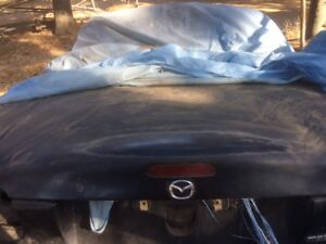 1999 Nb Mazda Miata Trunk Lid Blue Straight You Paint Free Local P u