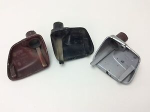 Porsche 928 944 Exterior Mirror Housing Frame 3 Pcs Oem