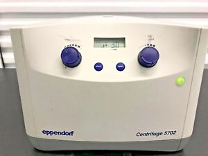 Eppendorf 5702 Centrifuge With A 4 38 Rotor And Buckets