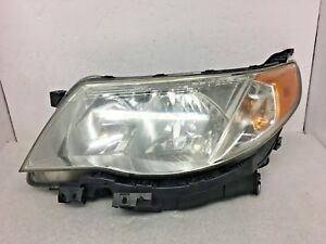 Oem 2009 2010 2011 2012 2013 Subaru Forester Left Halogen Headlight Tiny Crack