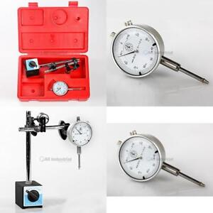 Dial Indicator On off Magnetic Base Set Test Precision Starrett Resolution