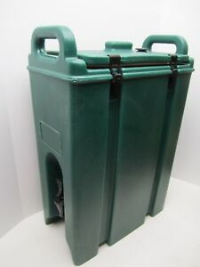 Cambro Green 500 Lcd Beverage Dispenser Hot Cold Coffee smells Like Coffee
