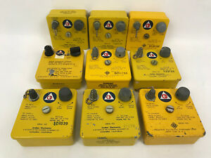 Lot Of 9 Dosimeter Charger Ocdm Cdv 750 Model 5b Radiation Detector Survey Meter
