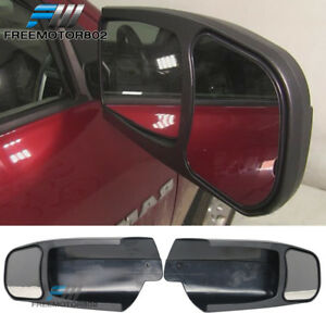 Fits 09 14 Dodge Ram 1500 3500 Towing Mirror Extension Pair