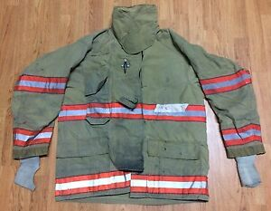 Cairns Rs1 Firefighter Turnout bunker Coat 44 Chest X 32 Length 2005