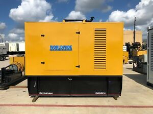 Olympian D200p4 Generator Set 200kw Standby 480v 28 Hours