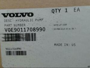 Volvo 9011708990 Genuine Oem Hydraulic Pump Voe9011708990 new no Core Charge