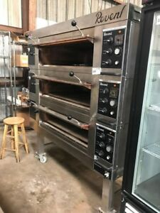Revent 649 3 Deck Commercial Electric Modular Oven W Steam Injection Very Nice