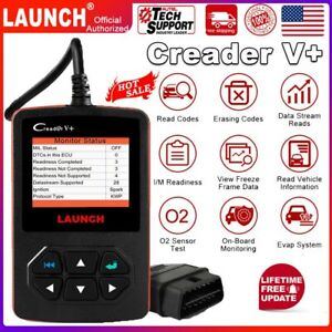 100 Original Launch Creader V Obd2 Code Reader Engine Car Diagnostic Scanner