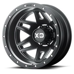 17 Inch Black Wheels Rims Ford F350 F 350 Drw Dually 8x6 5 Set Of Four Xd Series