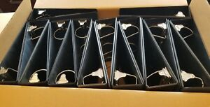 Wholesale Lot Of 16 3 Ring Binders 3 5 3 Inches Black