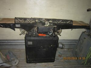 Dayton 8 Jointer Model 5z043 Good Condition Single Phase 1 5 Hp