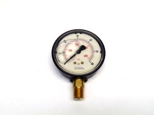 Noshok 25 900 60 Pressure Gauge 60 Psi Stainless Liquid 2 5