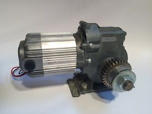 Electric Motor Speed Reducer Metal Geared Reduction Motor
