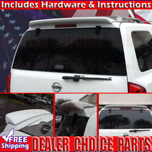 For 2004 2015 Nissan Armada Qx56 Rear Roof Spoiler Wing Tail Fin Primer
