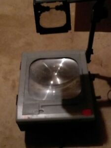 3m 9100 Overhead Projector W new Bulb Support Local Schools 2