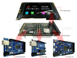 4 3 tft Capacitive Touchscreen Display W arduino Shield 480x272 For Due mega uno