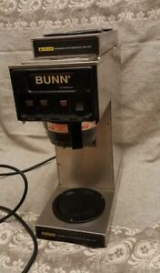 Commercial Bunn 3 Burner Warmer Coffee Brewer Maker S Series St 20 Refurb Nsf