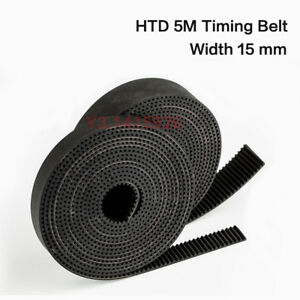 Htd 5m Rubber Open Timing Belt 10mm 15mm 20mm Wide 5mm Pitch For Cnc Step Motor