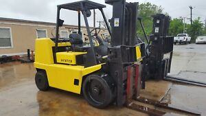 Hyster 15 500lb Capacity Forklift Year 1990 Propane Baltimore Maryland