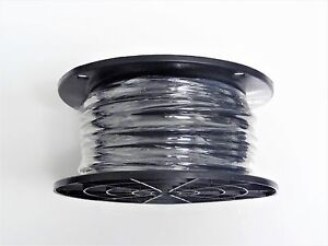 16 Gauge Wire Black 500 Ft On A Spool Primary Awg Stranded Copper Power Mtw