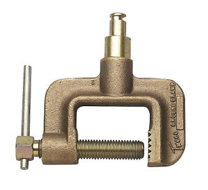 Ground Clamps 600 A Tweco Male Plug C clamp