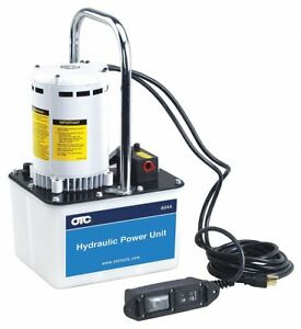 High Force Hydraulic Electric Pump With Remote 2 Way 2 Position Control Valve
