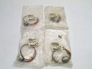 New Brad Harrison 7r3006a19a120 3 Pin Male Micro Change Receptacle Lot 4