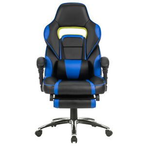 Pu Leather Ergonomic High Back Executive Desk Task Office Computer Gaming Chair