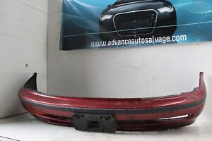 Front Bumper Assy Honda Accord 92 93 Red Cover Only