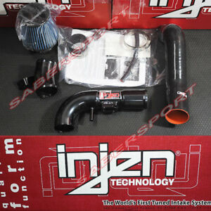 Injen Sp Series Black Cold Air Intake Kit For 2009 2013 Honda Fit