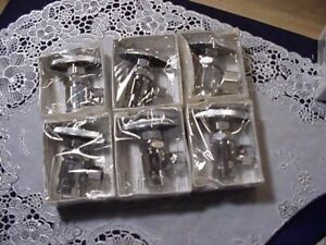Lot Of 6 Wolverine 53336s Iron Pipe Angle Stop 3 8 Fnpt X 3 8 Tube Chrome New